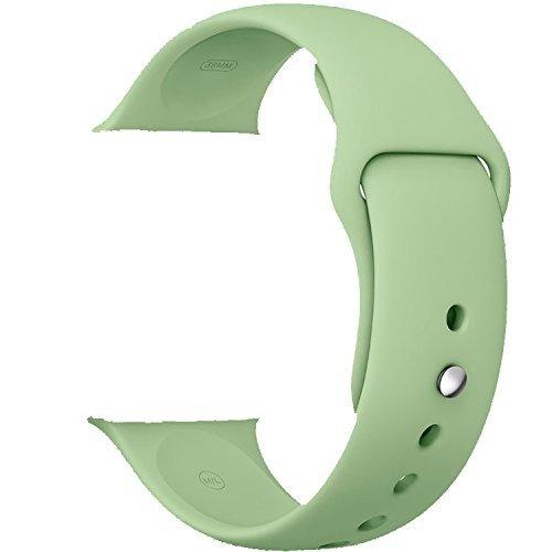 134 opinioni per ZRO Smartwatch Cinturino, Morbido Silicone Sport Cinturini di Ricambio per Apple