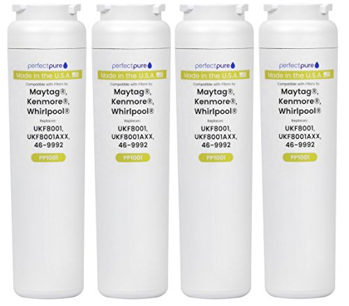 4 Pack PerfectPure Water Filter Made in the USA to replac...