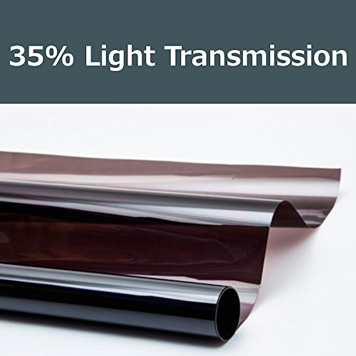 PROTINT WINDOWS 35% Shade Color 36 Inches by 10 Feet Window Tint Film Roll, for Privacy and Heat Reduction
