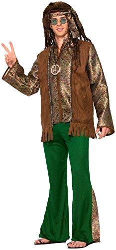 Forum Novelties Men's Peace Out Hippie Xl Costume, Multi, X-Large