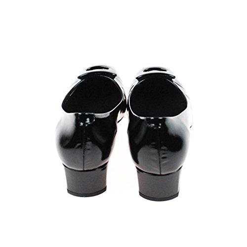 Perlato 9508 Saffiano Noir Schwarz