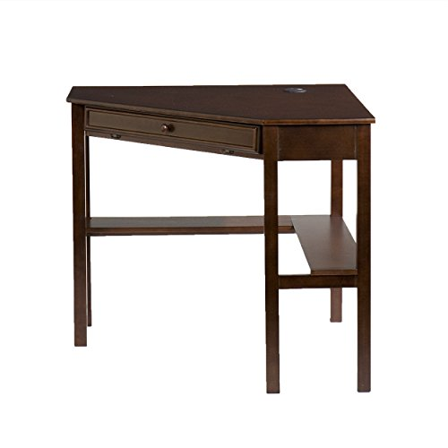 "037732066448 - Southern Enterprises Corner Computer Desk 48"" Wide, Espresso Finish carousel main 3"