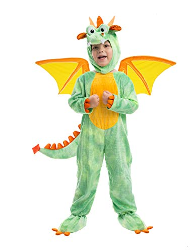 Spooktacular Creations Deluxe Dragon Costume Set with Toys for Kids Role Play -