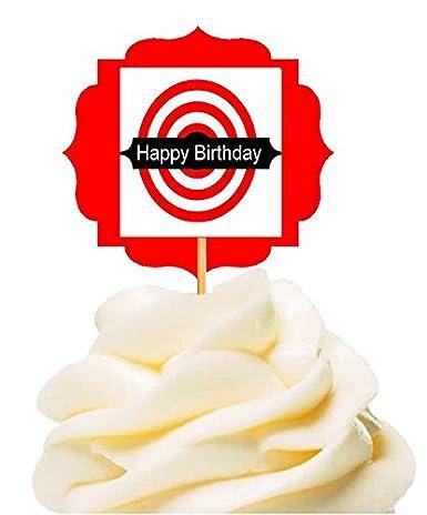 Admirable Cakesupplyshop Item24249 Happy Birthday Guns Weapons Military Personalised Birthday Cards Veneteletsinfo