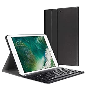 Fintie iPad 9 7 2018 / 2017 / iPad Air 2 / iPad Air Keyboard Case - Slim  Shell Stand Cover w/ Magnetically Detachable Wireless Bluetooth Keyboard  for