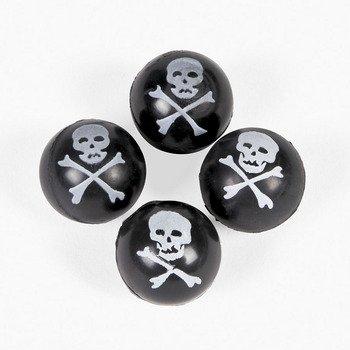 Skull & Crossbones Bouncing Balls - Games & Activities & Balls
