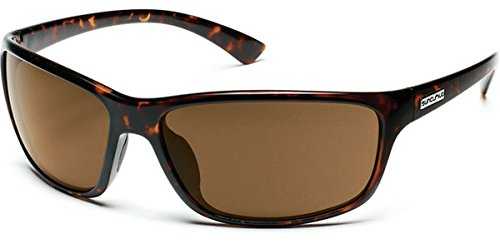 6bd129ca65 Image Unavailable. Image not available for. Color  Suncloud Polarized  Sentry Sunglasses - Tortoise Frame - Brown Polarized Polycarbonate Lens