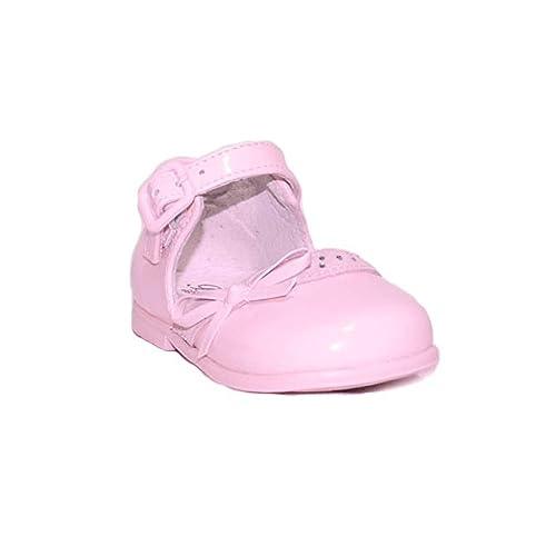 BUBBLE BOBBLE Z. COMUNIÓN PRICESA A1408 Zapatos Fiesta Comunión Niña Rojo Elegantes Moda Danza Boda Bailarina Merceditas: Amazon.es: Zapatos y complementos