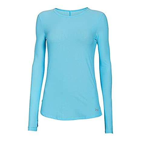 eca9f2fd Under Armour Coolswitch Run LS Top - Women's Sky Blue / Reflective XS