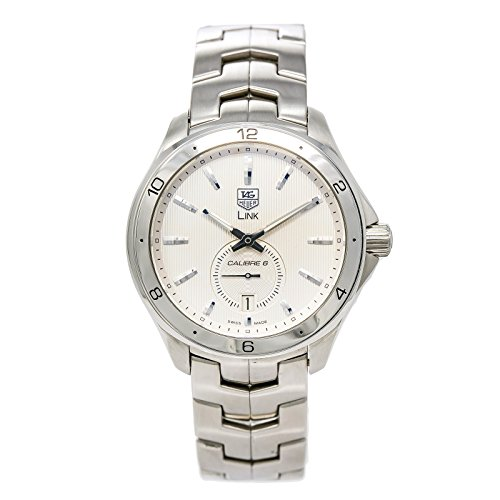 Authentic New Tag Heuer Link - Tag Heuer Link Caliber 6 automatic-self-wind mens Watch WAT2111 (Certified Pre-owned)