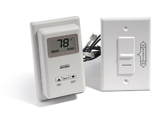 Amazon.com: Skytech TS/R-2 Wireless Wall Mounted Thermostat ...