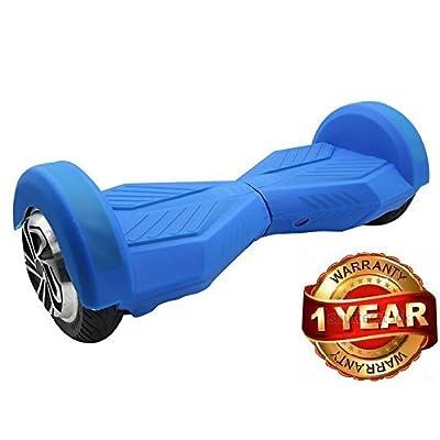 Bleu Coque de Protection en Silicone Peau Pour Housse en 8 pouces Smart d'équilibre Trottinette électrique Hoverboard Scooter