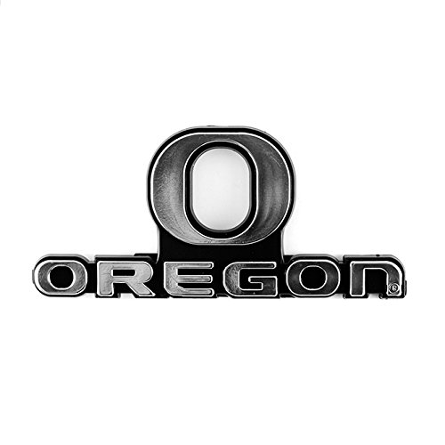 NCAA Oregon Ducks Chrome Automobile Emblem
