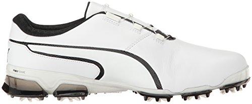 Puma Mens Titantour Ignite Disco Golf-scarpe Puma Bianco-puma Nero