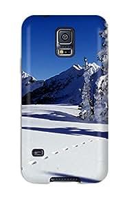 New Cute Funny Planaigipfel Im Winter Case Cover Galaxy S5 Case Cover