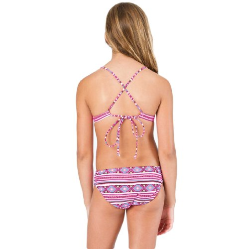 HTC htc waterproof phone case : Billabong Girlsu0026#39; Heat Wave Triangle Girls Bikini Set Hot Pink 6X in ...
