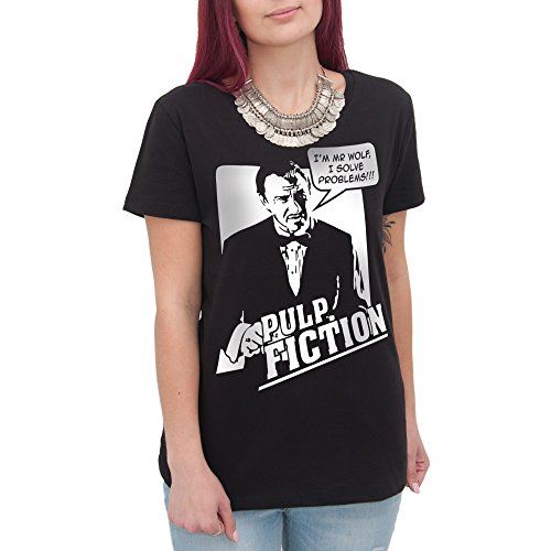 Camiseta I 'm MR Wolf I Solve Problems Pulp Fiction – by BRAIN Factory