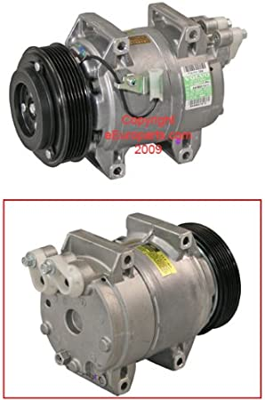 Volvo S80 1999 2000 2001 A//C New AC Compressor COMPLETE CLUTCH Assembly Fits