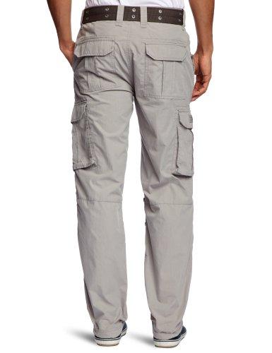 Pantalon Cargo Schott Clair Us70 Homme Nyc Gris Px1O1Fq