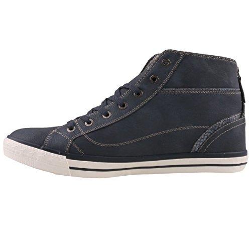Womens Blau 820 1209 Sneakers 601 navy Mustang ZgE1wOxZ