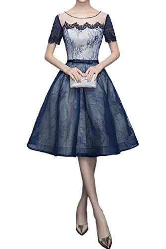 Ivydressing - Vestido - trapecio - para mujer azul marino