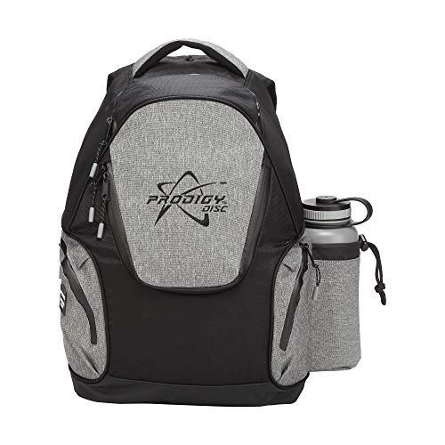 Prodigy Disc BP-3 V2 Disc Golf Backpack - Fits 17 Discs - Beginner Friendly, Affordable (Black/Heather Gray) by Prodigy Disc (Image #3)