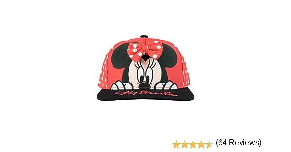 Disney Gorra para niñas Minnie Mouse Talla única: Amazon.es: Ropa ...