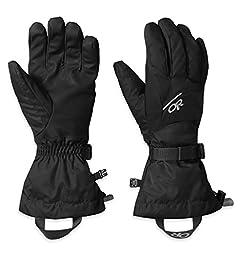 Outdoor Research Men\'s Adrenaline Gloves, Black, Large