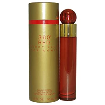360 Red by Perry Ellis for Women – 1.7 Fluid Ounce EDP Spray