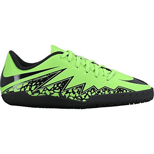Nike Youth Hypervenom Phelon II Turf (GREEN STRIKE/BLACK) (6Y) by NIKE