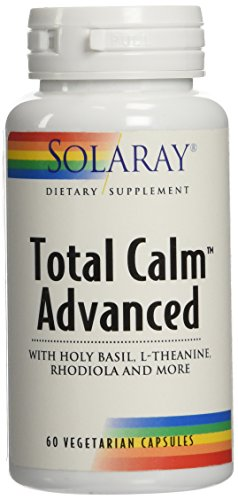 Solaray Total Calm Advanced Veg Capsules, 60 Count For Sale