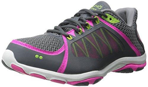ryka-womens-influence-2-cross-training-shoe-steel-grey-iron-grey-athena-pink-75-m-us