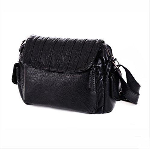 pengweiHembra bolsa de mensajero raya de moda solo paquete de hombro , 2 1