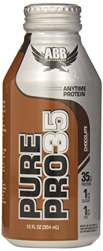 American Body Building Pure Pro 35, Chocolate, 12-Ounce Bottles (Pack of 12)