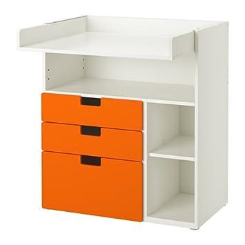 Zigzag Trading Ltd Ikea Stuva Table A Langer Avec 3 Tiroirs Blanc