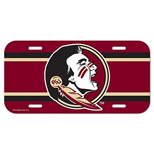 NCAA Florida State University License Plate