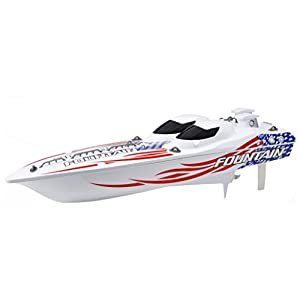 - 41eEU2GUTpL - 23-Inch Radio Control Full Function Fountain Boat – 49 MHz (Frequencies may vary)