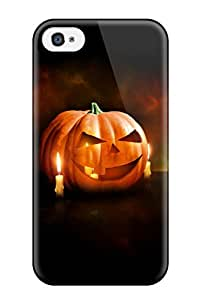 For Iphone 4/4s Protector Case K Wallpapers Halloween Phone Cover