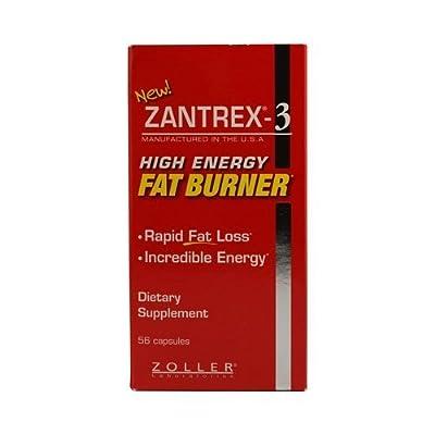 Nigen Biotech Zantrex 3 High Energy Fat Burner - 56 Ct, 2 Pack by NiGen BioTech