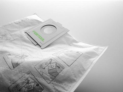 498411, Festool Self-cleaning Filter bag 5x, CT Midi ()