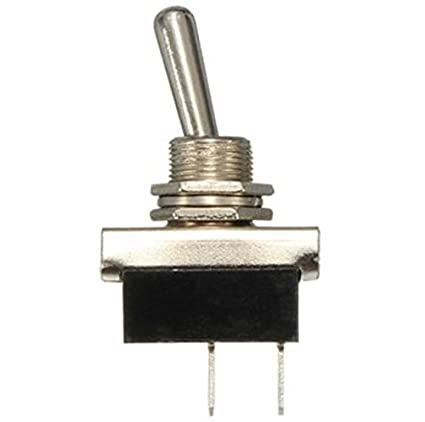 25A @ 12V Heavy Duty Electrical Toggle Switch For 12.5mm Round Hole
