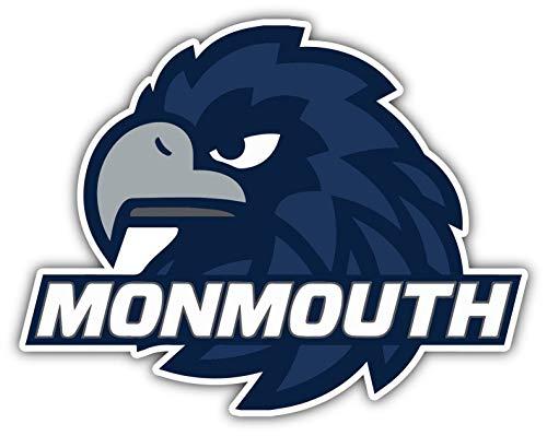 Vinyl Sticker Monmouth Hawks University College NCAA Car Bumper Laptop Water Bottle Window 5 X4 INCH