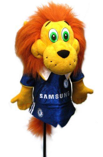 Chelsea FCチェルシーによってマスコットヘッドカバー。   B01N8W8MRB