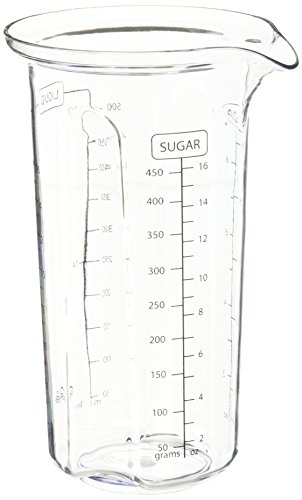 Trudeau Maison Measuring Beaker, 16 oz, Clear ()