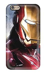 Best New Premium Flip Case Cover Iron Man Skin Case For Iphone 6 9396575K41093545