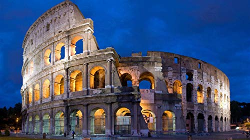 5D Diamond Painting Kit Full Drill Square/Round Cross Stitch Craft Supplies Rome Colosseum DIY Mosaic Embroidery Home Decoration Landscape Painting by Atongham (Image #7)