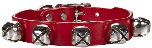 Auburn Leathercrafters Jingle Bell Dog Collar 5/8 x12