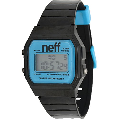 Neff Men's Flava, Black/Cyan, One Size