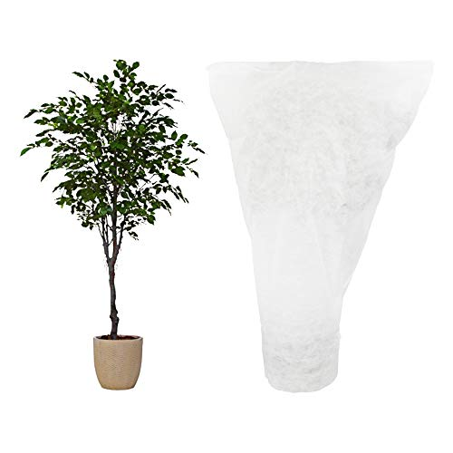 H B Luxuries Plant Cover Frost Protection Bag for Shrubs Trees from Being Damaged, Bad Weather or Pests, 3.97 5.94 PC72