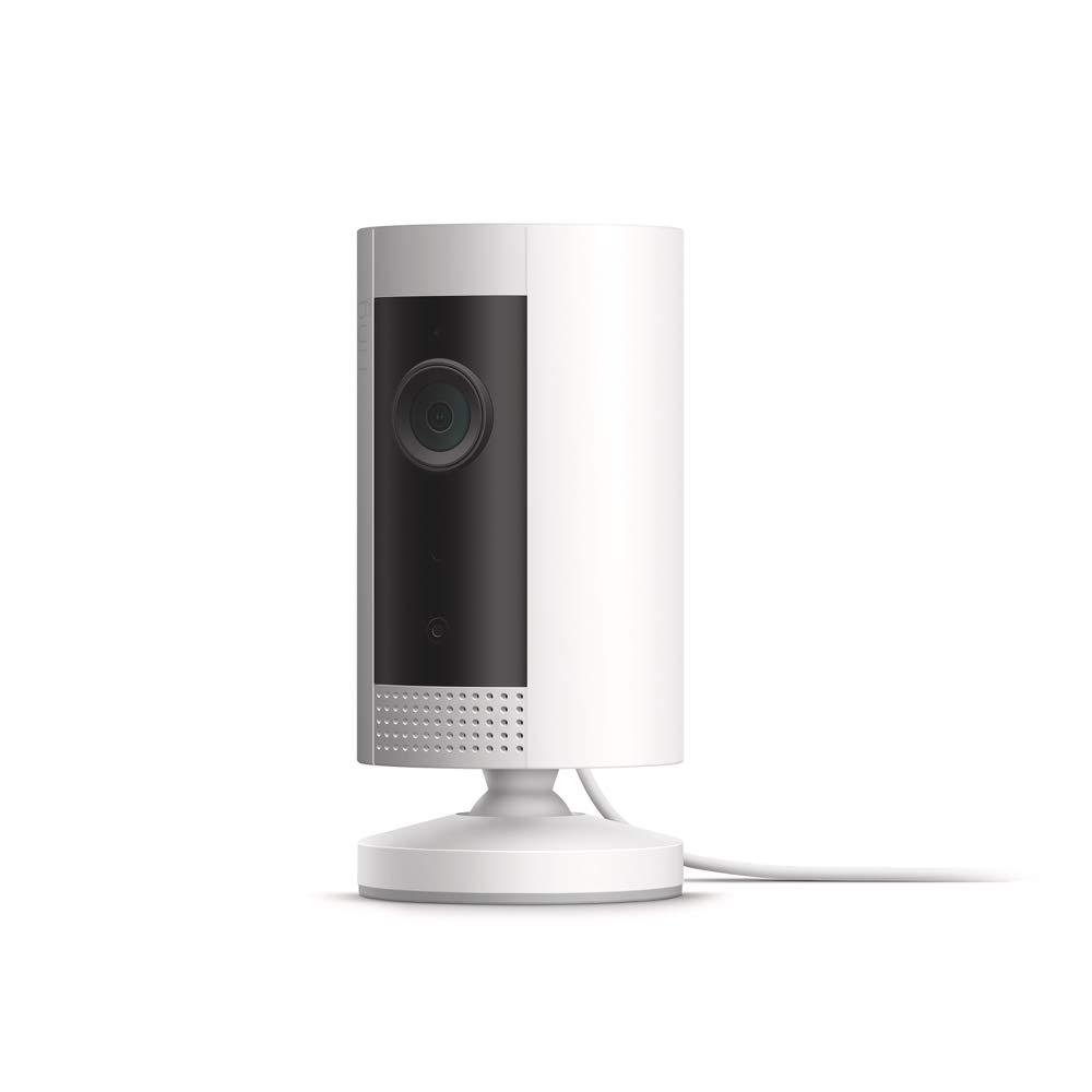 Introducing Ring Indoor Cam, Compact Plug-In HD security camera with two-way talk, White, Works with Alexa by Ring